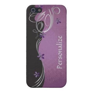 Elegant Vintage Floral | Amethyst Case For iPhone SE/5/5s