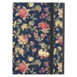 Elegant Vintage Floral Case iPad Folio Case