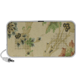 Elegant Vintage Floral Fabric (11) PC Speakers
