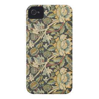 Elegant Vintage Floral iPhone 4 Case