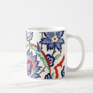 elegant vintage floral mugs