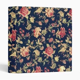 Elegant VIntage Floral Rose Binder