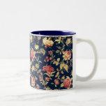 Elegant VIntage Floral Rose Mug