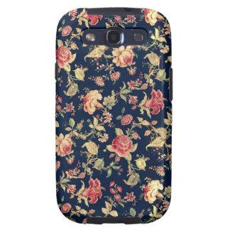Elegant Vintage Floral Rose Samsung Galaxy Case