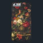 """Elegant Vintage Floral Vase iPhone 6 case<br><div class=""""desc"""">This case features a vintage floral painting by Abraham Mignon</div>"""