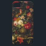 """Elegant Vintage Floral Vase iPhone Case<br><div class=""""desc"""">This case features a vintage floral painting by Abraham Mignon</div>"""