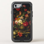 "Elegant Vintage Floral Vase OtterBox Defender iPhone 8/7 Case<br><div class=""desc"">This features a design based on the artwork of Abraham Mignon,  depicting a spectacular vase of flowers. Makes a great for anyone that loves vintage art or elegant florals.</div>"