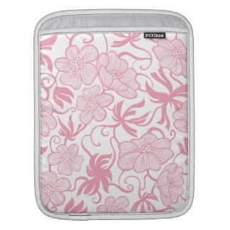 Elegant Vintage Flowers vol 10 Sleeve For iPads