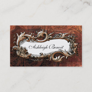 Vintage Steampunk Business Cards Zazzle