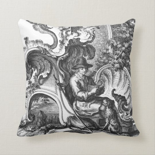 indian antique french cushions. Elegant Vintage French Black And White Toile Throw Pillow Indian Antique French Cushions T