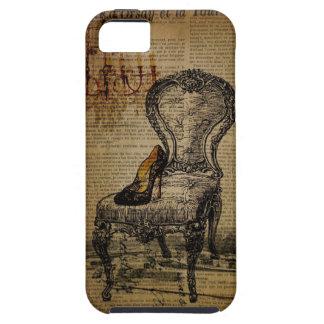 elegant vintage girly paris fashion iPhone 5 cases