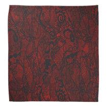 Elegant Vintage Lace Wallpaper Bandana