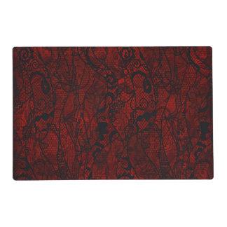 Elegant Vintage Lace Wallpaper Placemat