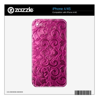 elegant vintage ornate iPhone 4/4S skin Decals For iPhone 4