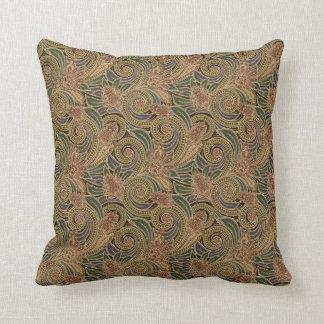 Elegant Vintage Paisley Pattern Pillow