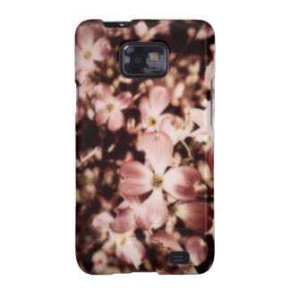 Elegant Vintage Pink Dogwood Blossom Samsung Galaxy S2 Cases