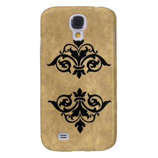 Elegant Vintage Scroll Finals 3G/3GS Galaxy S4 Cover