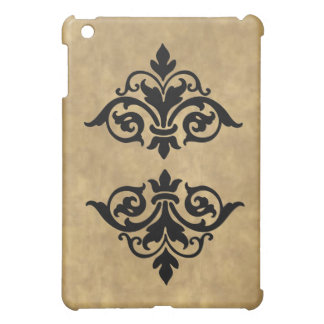 Elegant Vintage Scroll Finals  iPad Mini Case