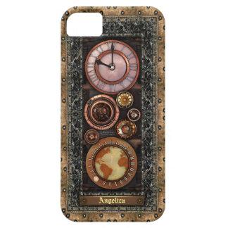 Elegant Vintage Steampunk Timepiece iPhone 5 Case