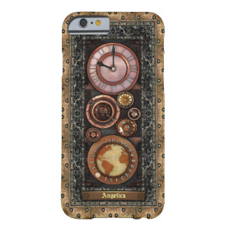 Elegant Vintage Steampunk Timepiece iPhone 6/6S Barely There iPhone 6 Case