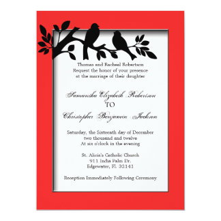 Elegant Vintage Wedding Invite