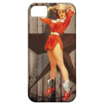 elegant  vintage western country cowgirl iPhone 5 cases