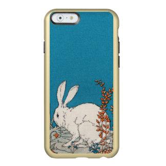 Elegant Vintage White Rabbit Flowers Incipio Feather Shine iPhone 6 Case