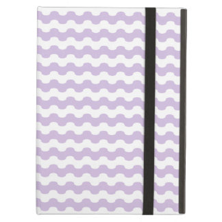 Elegant violet Cover iPad of waves in zigzag iPad Air Case