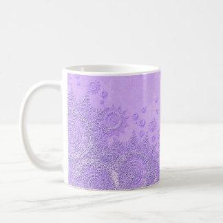 Elegant Violet Winter Snow Mug