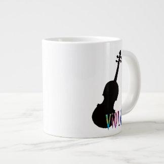 Elegant Violin! Large Coffee Mug