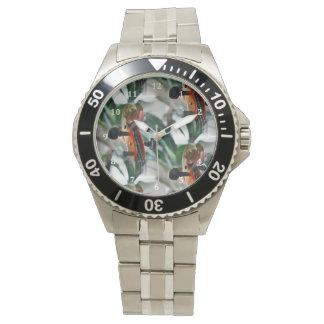 Elegant Violin Scroll Wristwatch