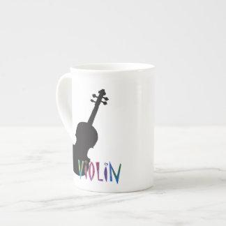Elegant Violin! Tea Cup