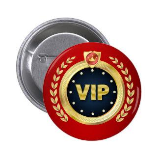 Elegant VIP Access Badge Pinback Button