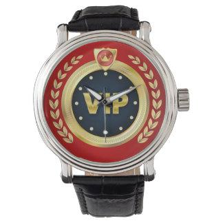 Elegant VIP Emblem Wristwatch