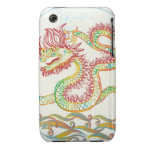 elegant water dragon for the 2012 Chinese new year Case-Mate iPhone 3 Case