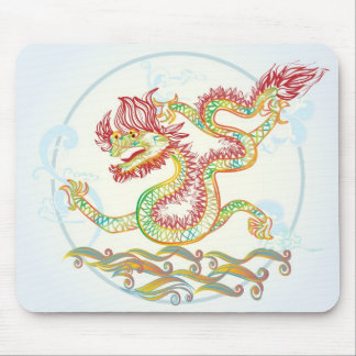 elegant water dragon for the 2012 Chinese new year Mouse Pad