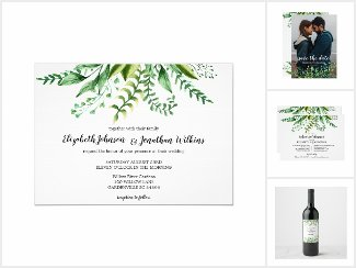 Elegant Watercolor Botanical Suite