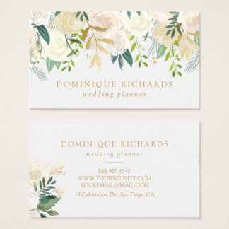 Gold Foil Business Cards Templates Zazzle