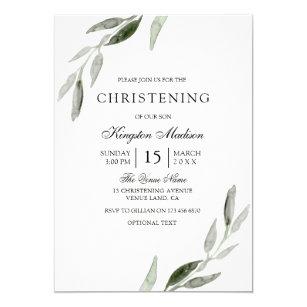 elegant baptism christening invitations zazzle