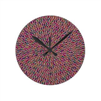 Elegant Wave Celebration Template add Text Img fun Clock