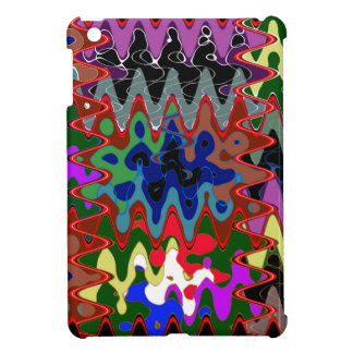 Elegant Wave Print on Shirt Pocket n back n gifts iPad Mini Cover