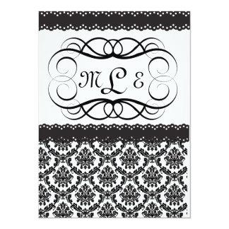 "Elegant Wedding/Anniversary/Retirement INVITATION 5.5"" X 7.5"" Invitation Card"