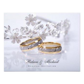 Elegant  Wedding Band Invitations