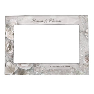 Elegant Wedding Frame with Names & Date