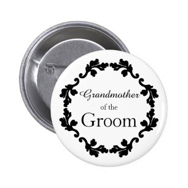 TheHopefulRomantic Elegant wedding Grandmother of the Groom Button