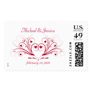 Elegant Wedding Invitation - Save the Date Postage