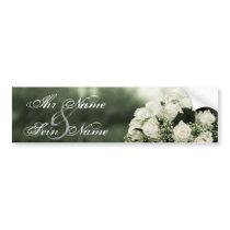 Elegant Wedding Invitations Bumper Sticker