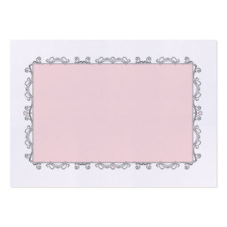 Elegant Wedding Place Card Large Business Cards (Pack Of 100)