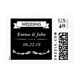 Elegant Wedding Postage