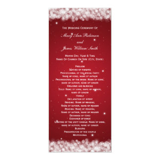 Elegant Wedding Programs Invitations & Announcements | Zazzle